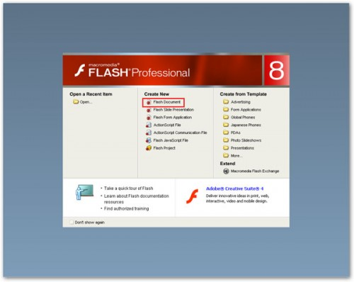 open Flash Professional 8