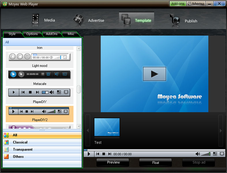 Moyea Web Player 2.4.0.5